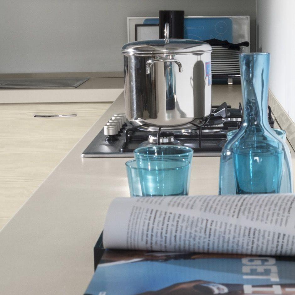 Cucina moderna Ambra top grigio