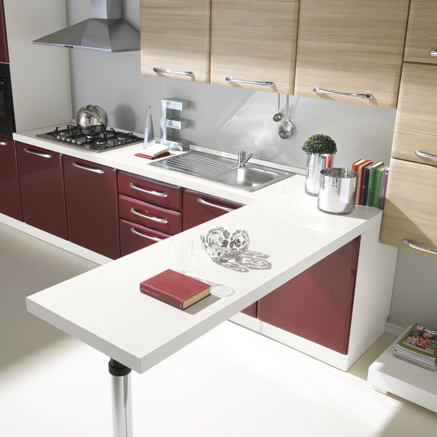 Cucina moderna Ambra bancone penisola