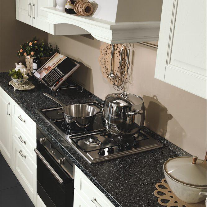 Cucina classica Bea particolare zona cottura