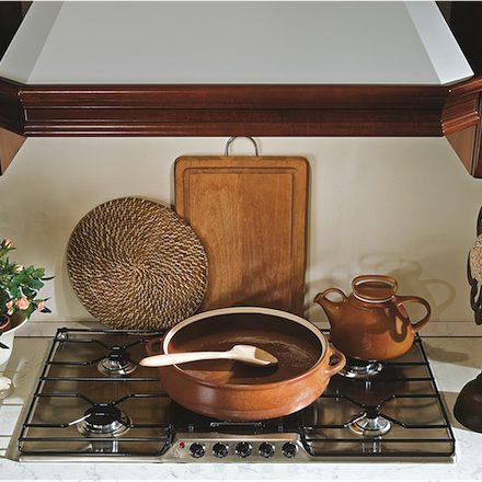 Cucina Classica Ninfa particolare zona cottura