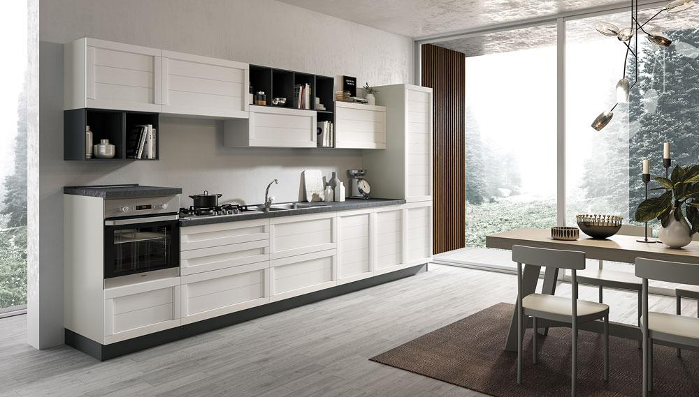 Cucina moderna Elsa, un fascino senza tempo - NETCUCINE