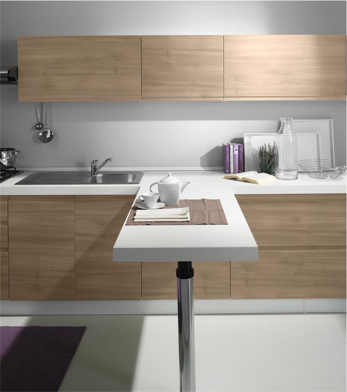 Cucina moderna Kelly in una soluzione armonica di moduli simmetrici ...