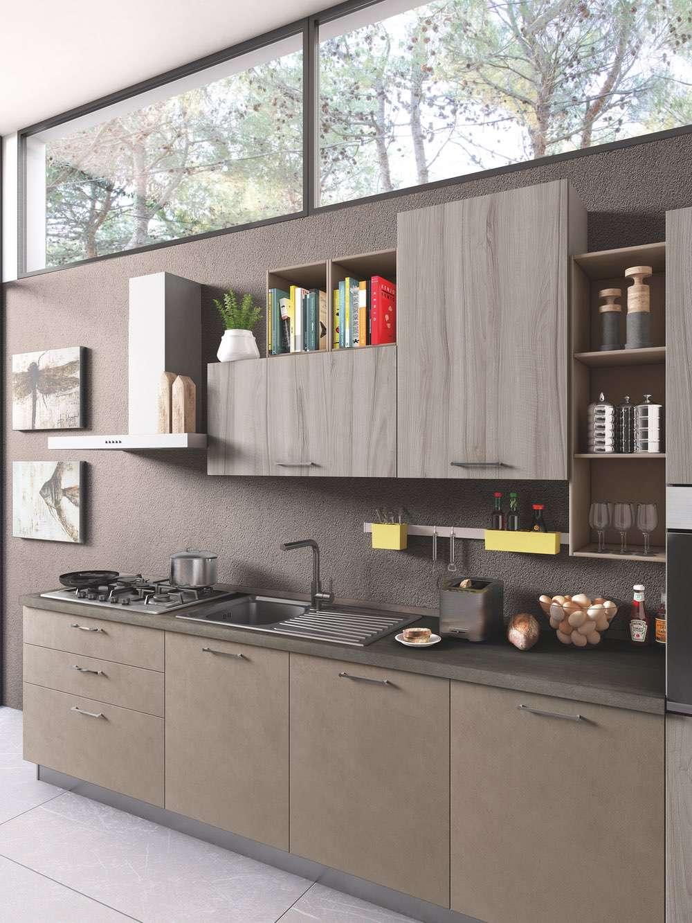 Cucina Moderna Newsmart Un Progetto Studiato Ad Hoc Netcucine
