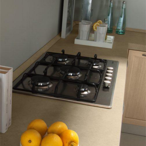 Cucina moderna Patty particolare top profilo beige