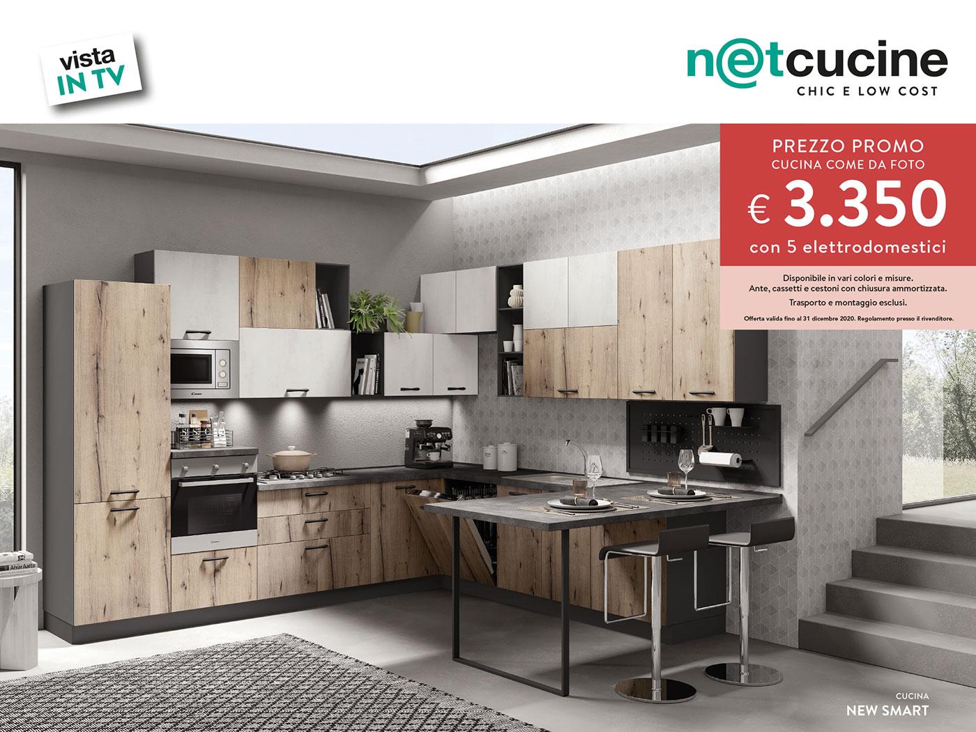Promo vista in TV - Cucina Newsmart