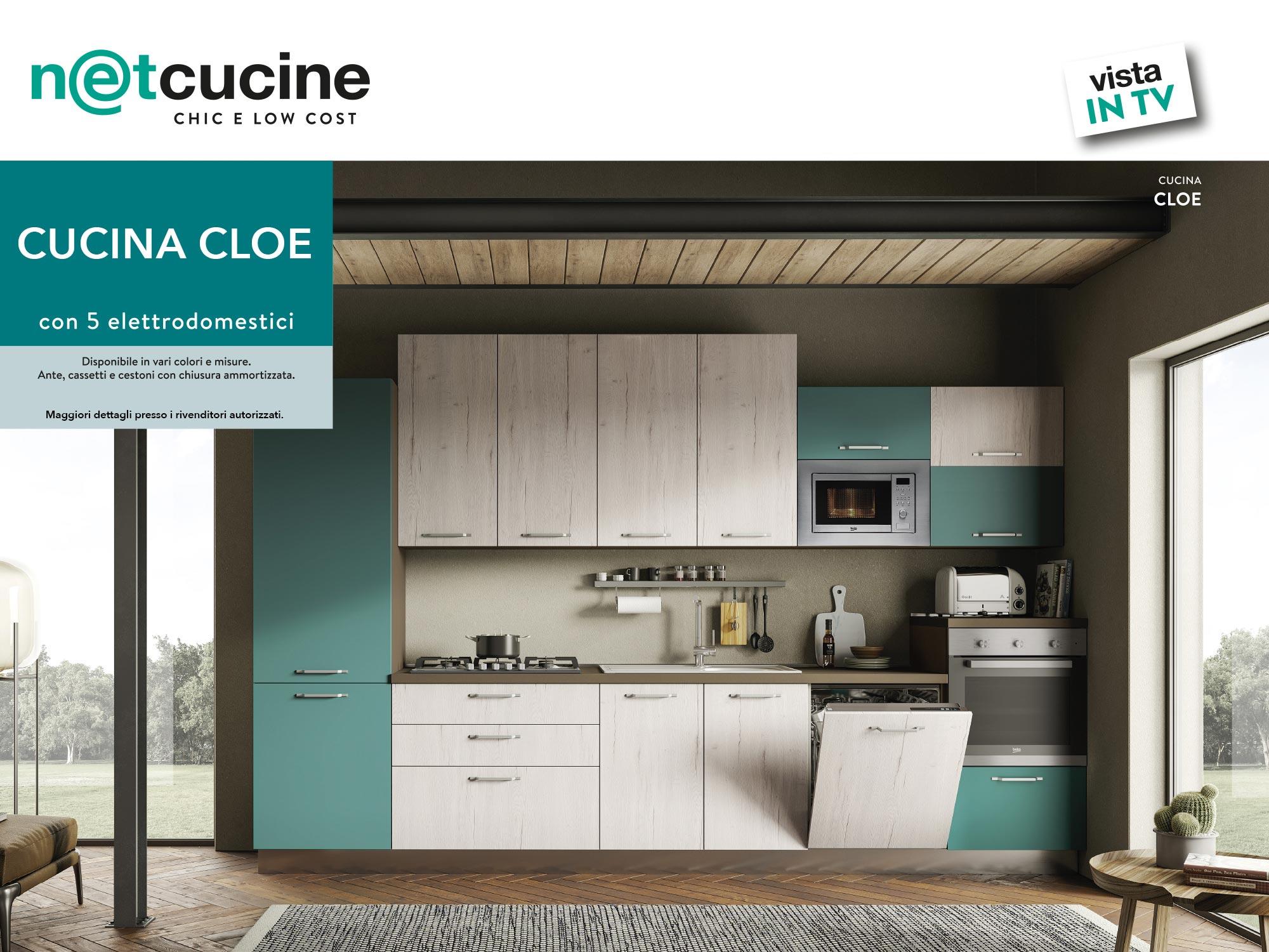 vista in TV - Cucina Cloe