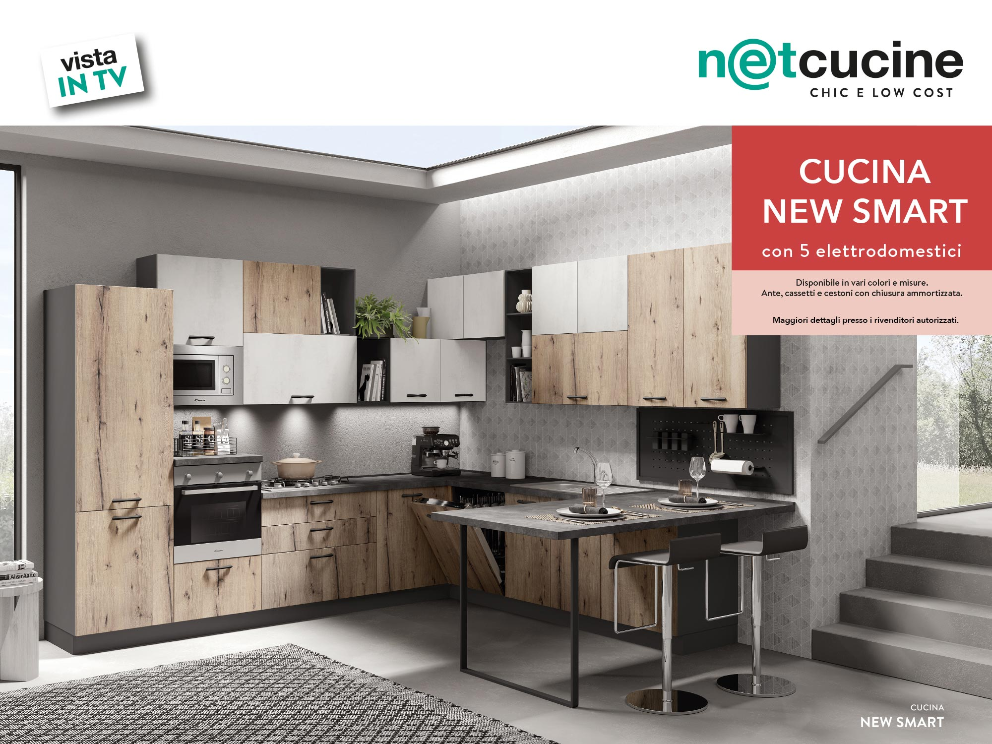 vista in TV - Cucina New smart